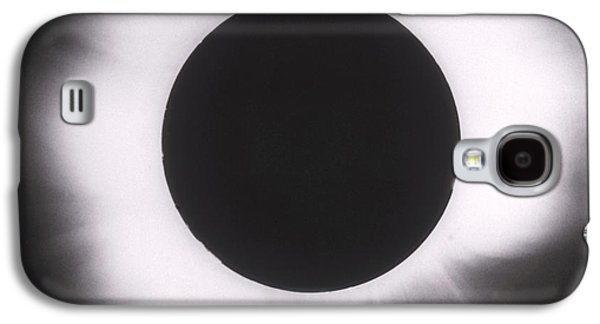 Solar Eclipse Galaxy S4 Cases - Solar Eclipse With Outer Corona Galaxy S4 Case by Science Source