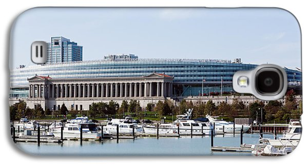 Soldier Field Galaxy S4 Cases - Soldier Field Chicago Galaxy S4 Case by Paul Velgos