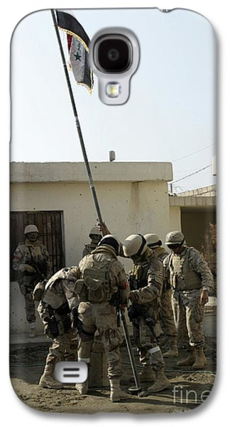 Brigade Galaxy S4 Cases - Soldiers From The Iraqi Special Forces Galaxy S4 Case by Stocktrek Images