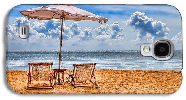 China Beach Galaxy S4 Cases - Solitude Galaxy S4 Case by Ryan Wyckoff