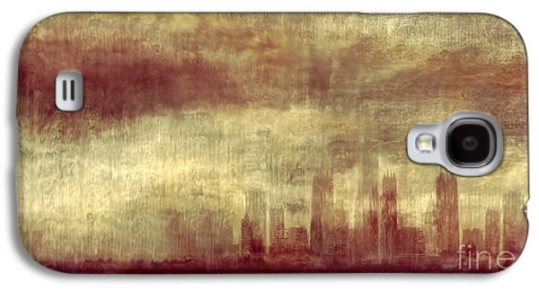 Urban Buildings Galaxy S4 Cases - Someone To Hold You Beneath Darkened Sky Galaxy S4 Case by Dana DiPasquale