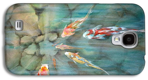 Fish Pond Galaxy S4 Cases - Something Fishy Galaxy S4 Case by Mohamed Hirji