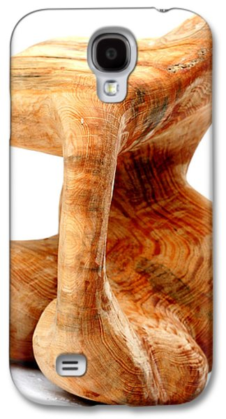 Abstracts Sculptures Galaxy S4 Cases - Sorprendido 3 Galaxy S4 Case by Jorge Berlato