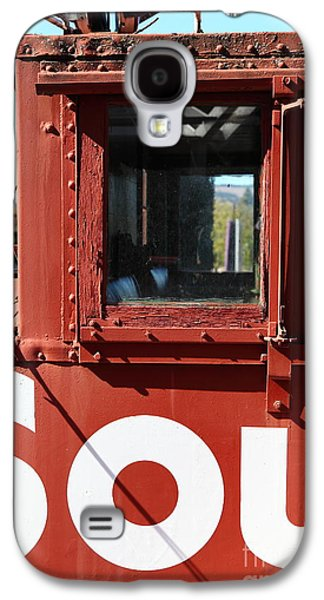 Old Caboose Galaxy S4 Cases - Southern Pacific Caboose - 5D19235 Galaxy S4 Case by Wingsdomain Art and Photography