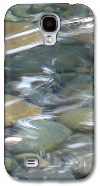 Waterscape Galaxy S4 Cases - Sparkling Water on Rocky Creek 1 Galaxy S4 Case by Carol Groenen