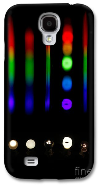 Florescent Lighting Galaxy S4 Cases - Spectra Of Energy Efficient Lights Galaxy S4 Case by Ted Kinsman