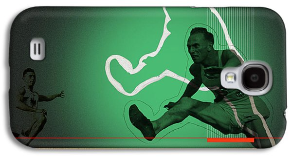Athlete Digital Galaxy S4 Cases - Speed Monsters Galaxy S4 Case by Naxart Studio