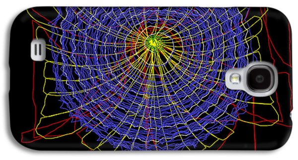 Buildin Galaxy S4 Cases - Spider Web Construction Galaxy S4 Case by Dr Samuel Zschokke