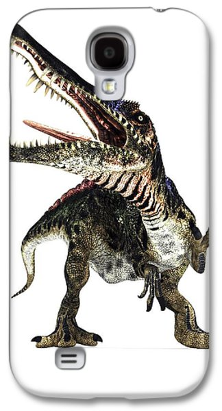 Northern Africa Galaxy S4 Cases - Spinosaurus Dinosaur, Artwork Galaxy S4 Case by Animate4.comscience Photo Libary