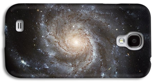 Astral Galaxy S4 Cases - Spiral Galaxy M101 Galaxy S4 Case by NASA / ESA / Space Telescope Science Institute