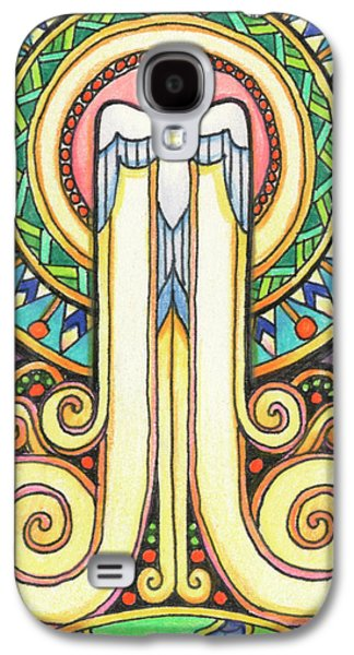 Resurrecting Drawings Galaxy S4 Cases - Spirit Rising Galaxy S4 Case by Amy S Turner