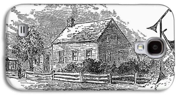 Spiritualism Galaxy S4 Cases - Spiritualism: Fox House Galaxy S4 Case by Granger