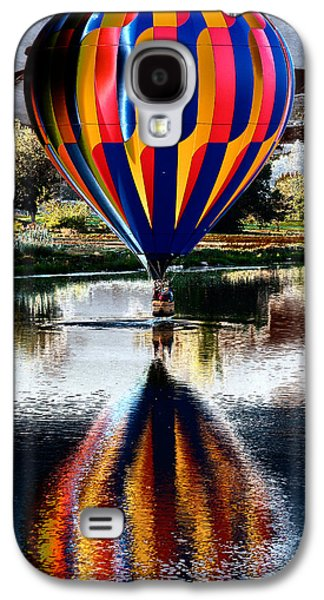 Slash Galaxy S4 Cases - Splash and Dash with a Hot Air Balloon Galaxy S4 Case by David Patterson
