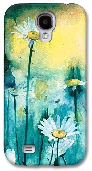 Splash Of Daisies Galaxy S4 Case by Cyndi Brewer