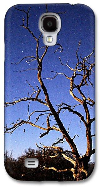 Spooky Tree Galaxy S4 Case by Larry Ricker