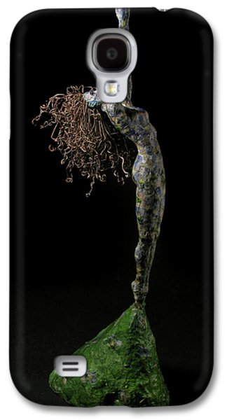 Growth Mixed Media Galaxy S4 Cases - Spring a sculpture by Adam Long Galaxy S4 Case by Adam Long