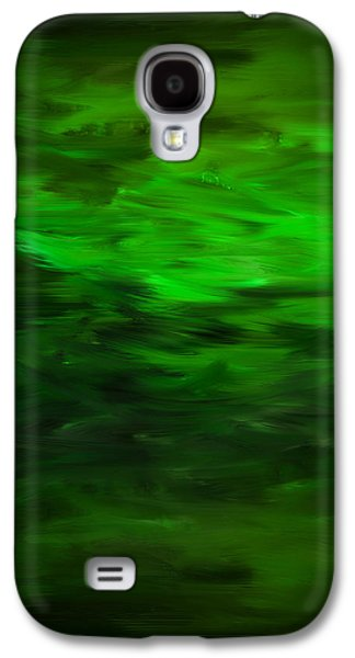 Squirrel Digital Art Galaxy S4 Cases - Spring As A New Life Galaxy S4 Case by Lourry Legarde