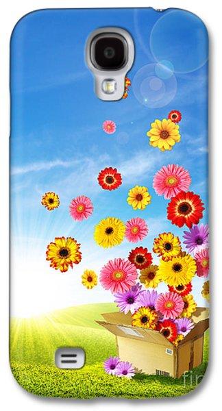 Cardboard Galaxy S4 Cases - Spring Delivery 2 Galaxy S4 Case by Carlos Caetano