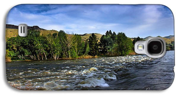 River Flooding Galaxy S4 Cases - Spring Flow Galaxy S4 Case by Robert Bales