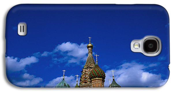 Religious Galaxy S4 Cases - St. Basils Cathedral, Moscow, Russia Galaxy S4 Case by Axiom Photographic