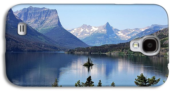 Mountain Valley Galaxy S4 Cases - St Mary Lake - Glacier National Park MT Galaxy S4 Case by Christine Till
