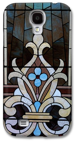 Americans Glass Galaxy S4 Cases - Stained Glass LC 03 Galaxy S4 Case by Thomas Woolworth