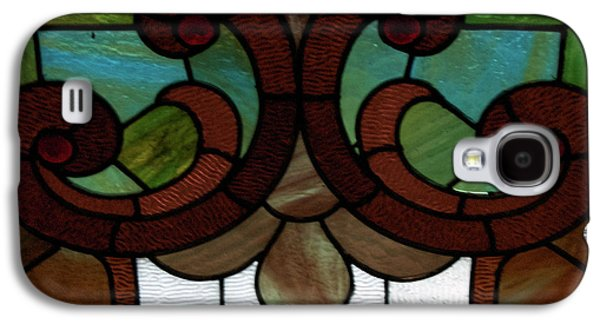 Portraits Glass Art Galaxy S4 Cases - Stained Glass LC 08 Galaxy S4 Case by Thomas Woolworth
