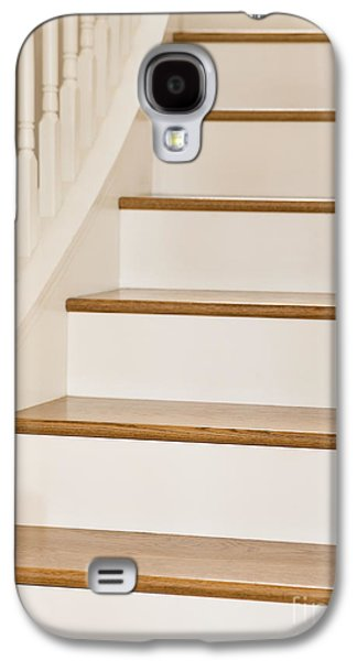 Wooden Stairs Galaxy S4 Cases - Stairs and Apple Galaxy S4 Case by Andersen Ross