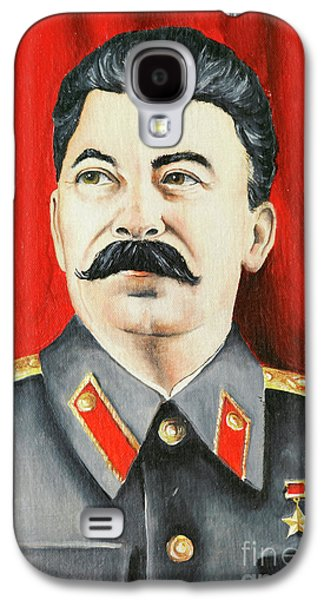 Terrorist Galaxy S4 Cases - Stalin Galaxy S4 Case by Michal Boubin