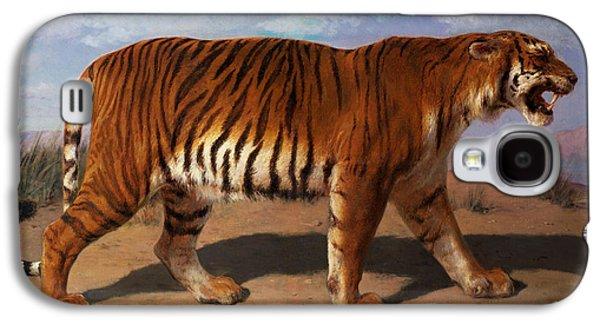 Stalking Tiger Galaxy S4 Case by Rosa Bonheur