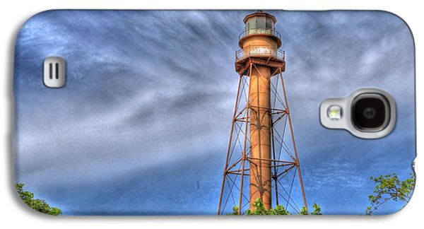 Transportation Tapestries - Textiles Galaxy S4 Cases - Standing Above the Trees Galaxy S4 Case by Sean Allen