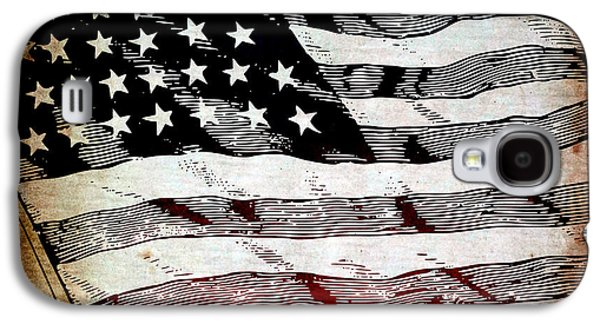 Government Mixed Media Galaxy S4 Cases - Star Spangled Banner Galaxy S4 Case by Angelina Vick