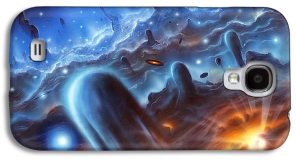 Birth Stars Galaxy S4 Cases - Starbirth Region, Artwork Galaxy S4 Case by Richard Bizley