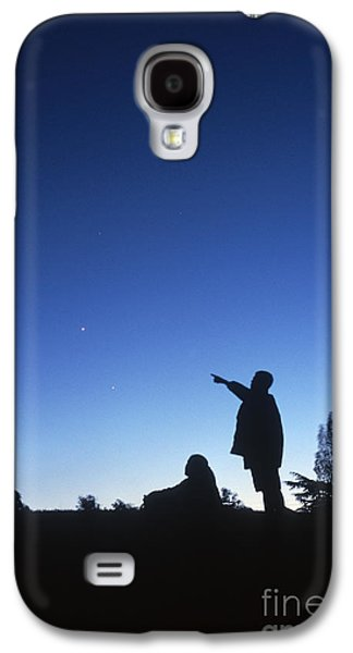 Stargazing Galaxy S4 Cases - Stargazing Galaxy S4 Case by Science Source