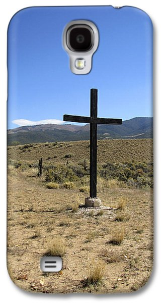 The Wooden Cross Galaxy S4 Cases - Stations of the Cross  Galaxy S4 Case by Ann Powell