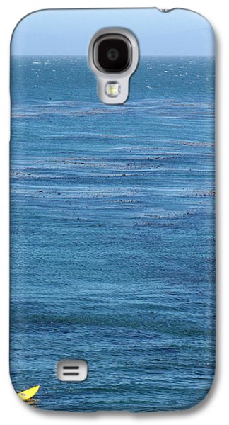 Steamer Lane Galaxy S4 Cases - Steam Lane Surfer Galaxy S4 Case by Ty Helbach