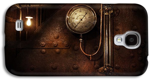 Mechanism Galaxy S4 Cases - Steampunk - Boiler Gauge Galaxy S4 Case by Mike Savad