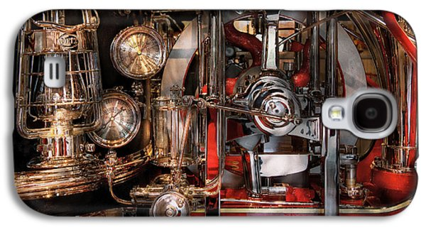 Mechanism Galaxy S4 Cases - Steampunk - Check the gauges  Galaxy S4 Case by Mike Savad