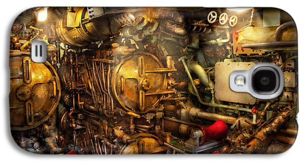 Mechanism Galaxy S4 Cases - Steampunk - Naval - The torpedo room Galaxy S4 Case by Mike Savad