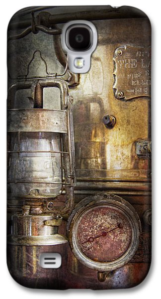 Mechanism Galaxy S4 Cases - Steampunk - Silent into the night Galaxy S4 Case by Mike Savad