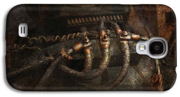 Mechanism Galaxy S4 Cases - Steampunk - Electrical - Frayed Connections Galaxy S4 Case by Mike Savad