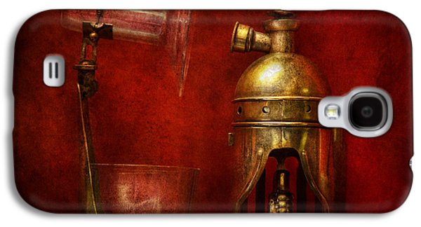 Mechanism Galaxy S4 Cases - Steampunk - The Torch Galaxy S4 Case by Mike Savad