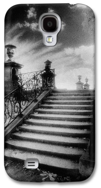 Steps At Chateau Vieux Galaxy S4 Case by Simon Marsden