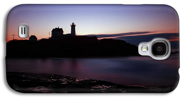 Cape Neddick Galaxy S4 Cases - Still Dawn Cape Neddick Galaxy S4 Case by Rick Berk