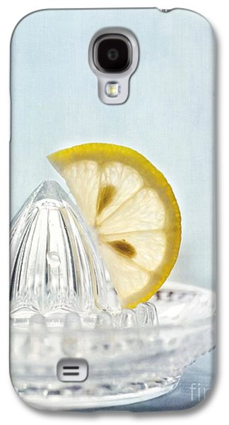 Juice Galaxy S4 Cases - Still Life With A Half Slice Of Lemon Galaxy S4 Case by Priska Wettstein