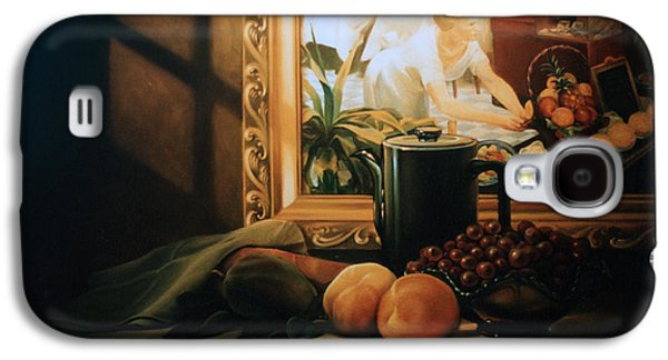 Still Life With Hopper Galaxy S4 Case by Patrick Anthony Pierson