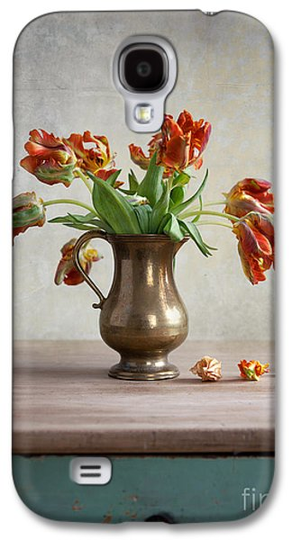 Still Life With Tulips Galaxy S4 Case by Nailia Schwarz