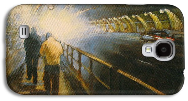 Stockton Paintings Galaxy S4 Cases - Stockton Tunnel Galaxy S4 Case by Meg Biddle