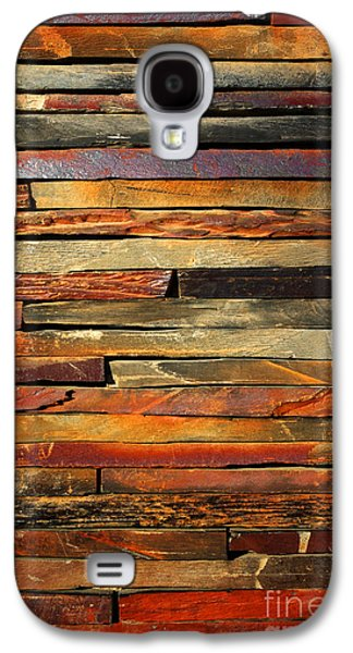 Colorful Abstract Galaxy S4 Cases - Stone Blades Galaxy S4 Case by Carlos Caetano