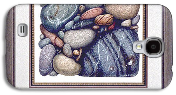 Nature Study Paintings Galaxy S4 Cases - Stone Study Galaxy S4 Case by JQ Licensing